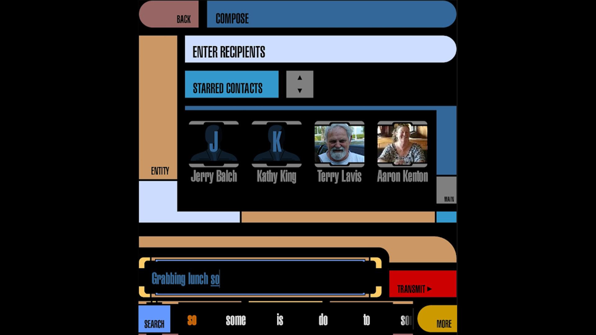 Trek TI Keyboard best star trek apps for Android