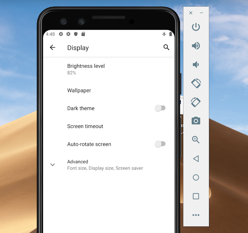 Android Q users can activate Dark Theme from their device's Settings