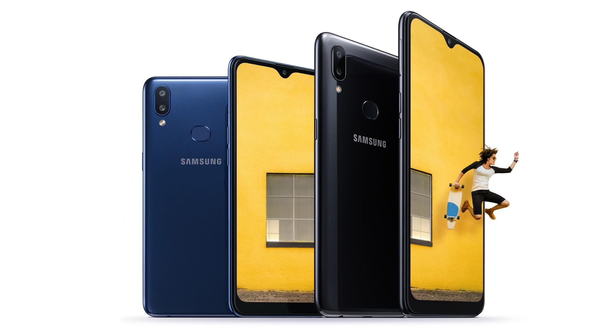 The Samsung Galaxy A10s.