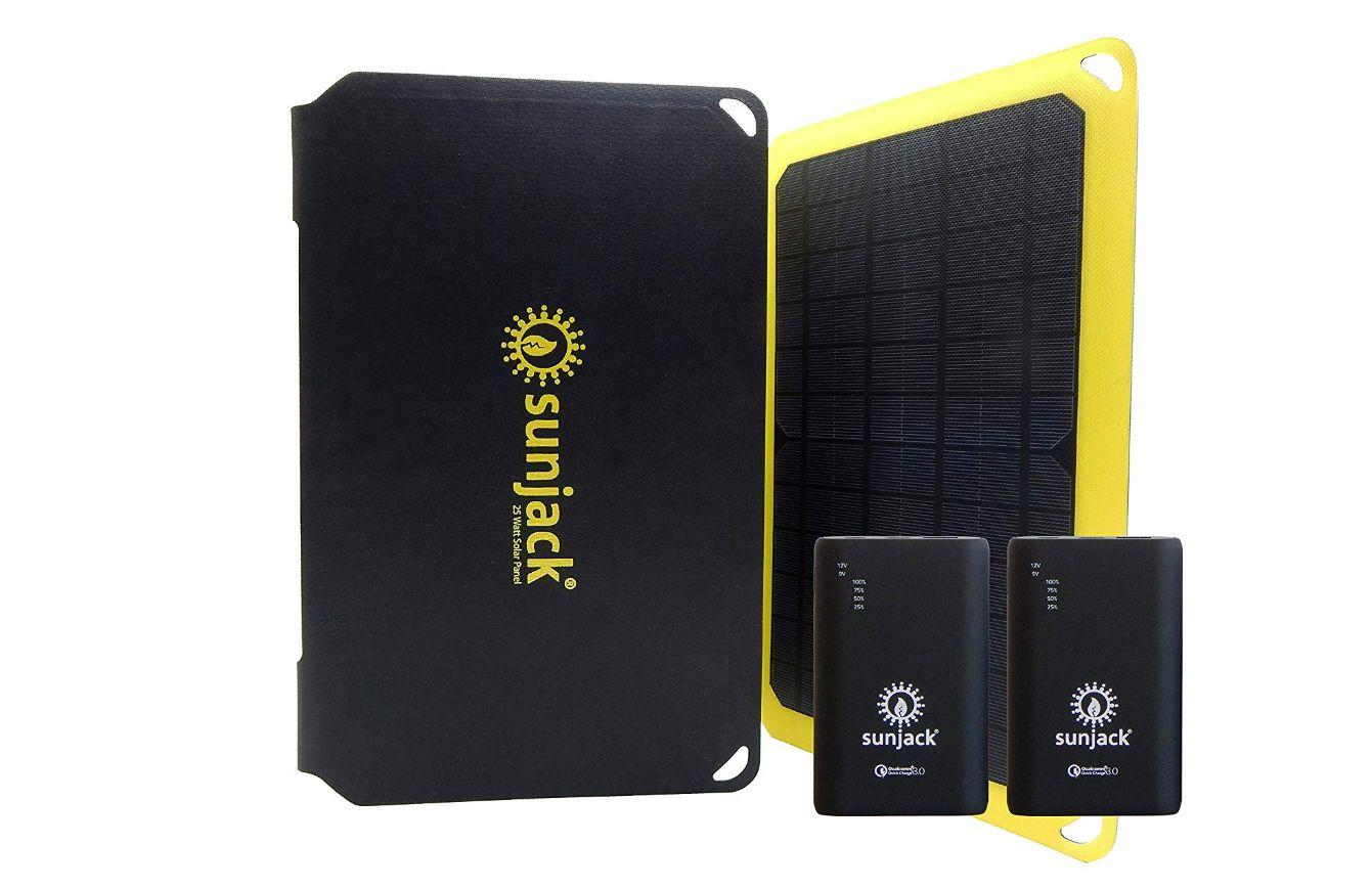 solarjack 25w solar charger