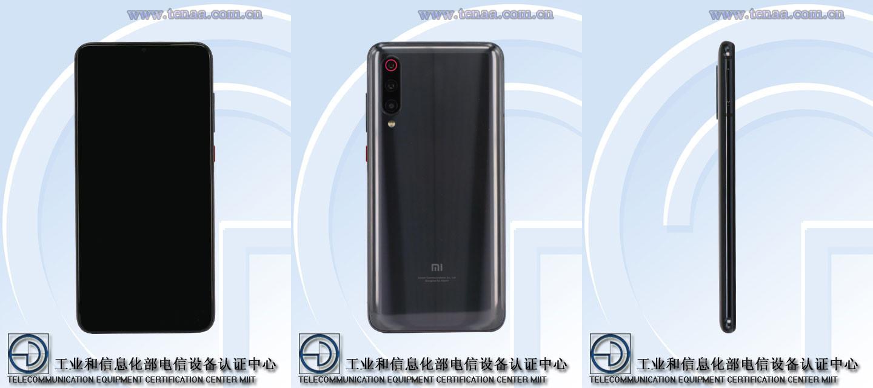 A Xiaomi 5G phone, believed to be the Xiaomi Mi 9S 5G or Mi 9 5G.
