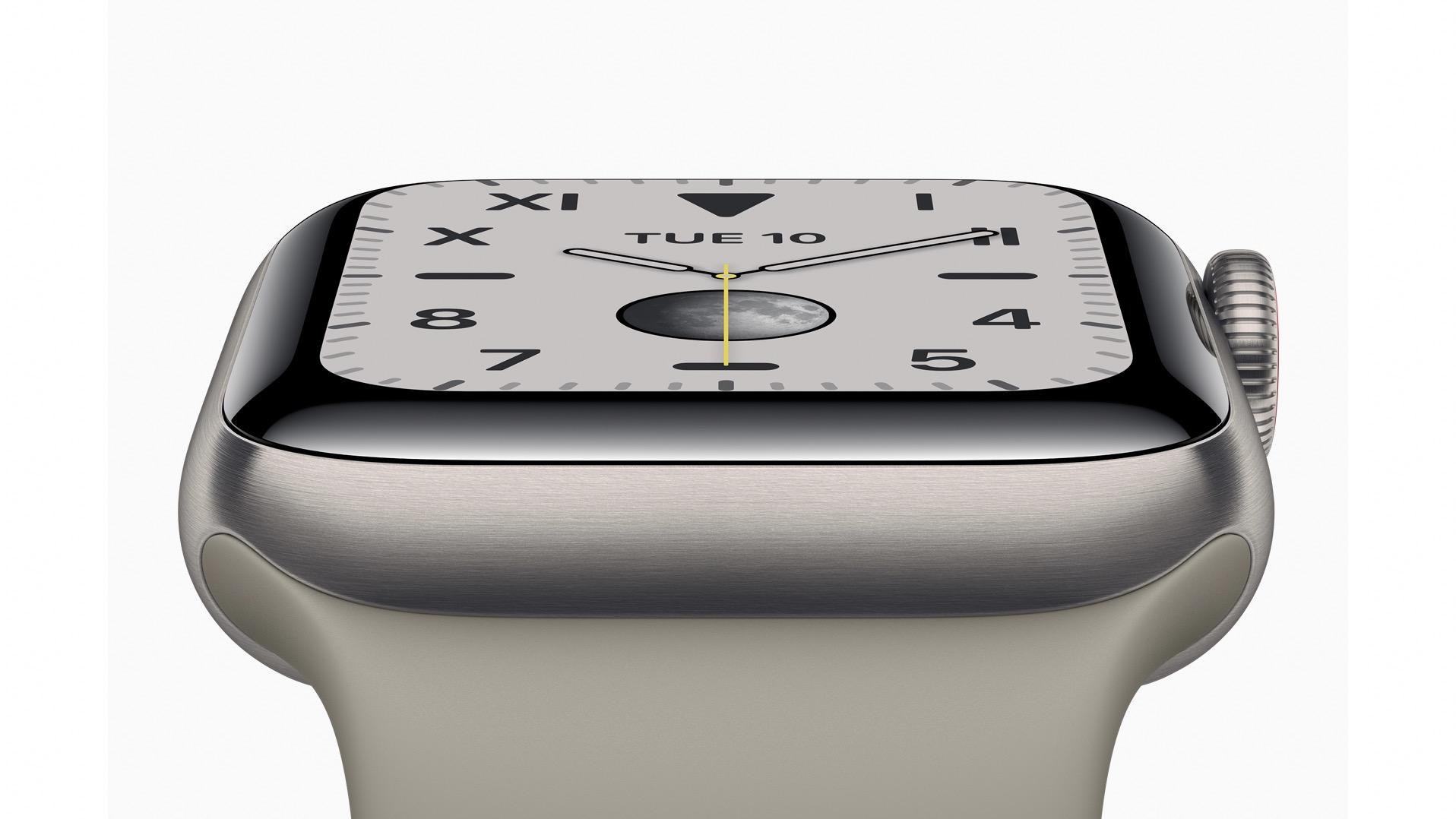 Apple Watch Series 5 in aluminum