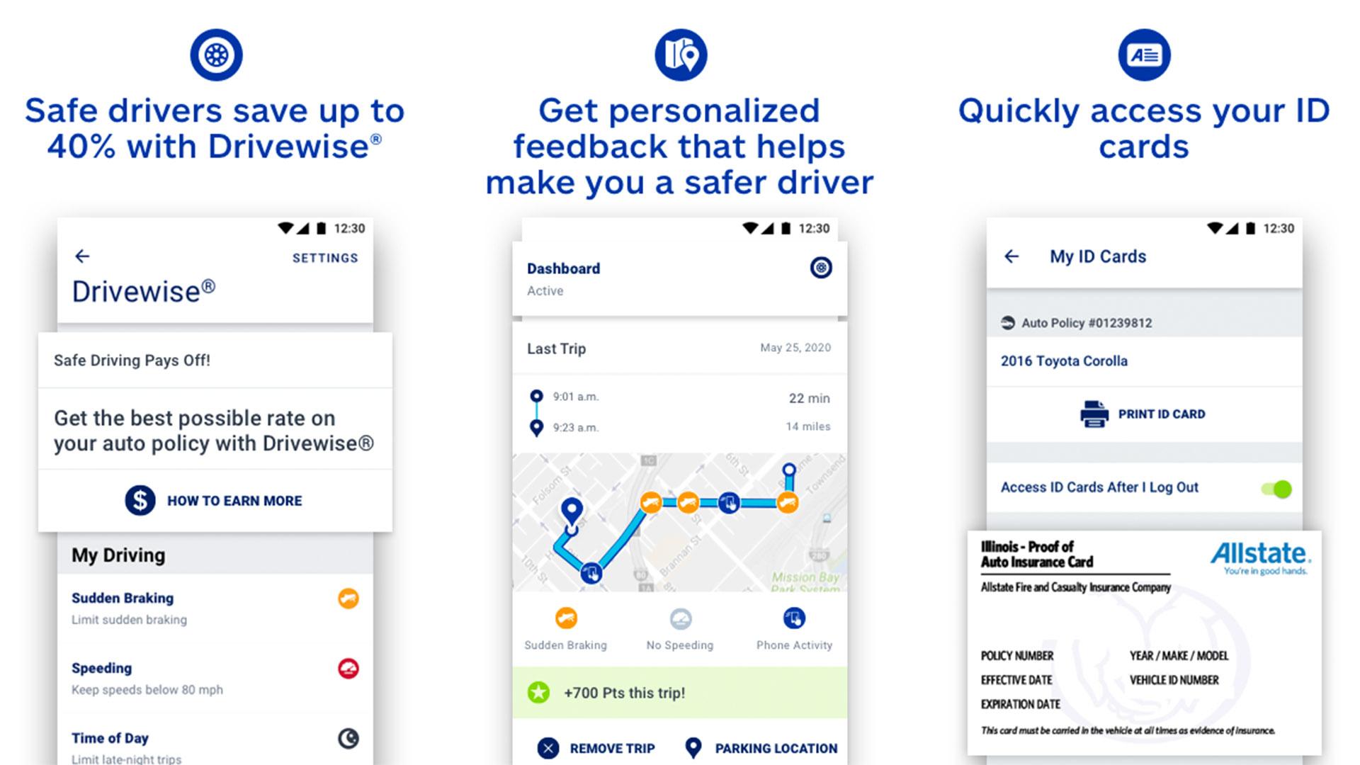 Allstate Mobile screenshot 2020