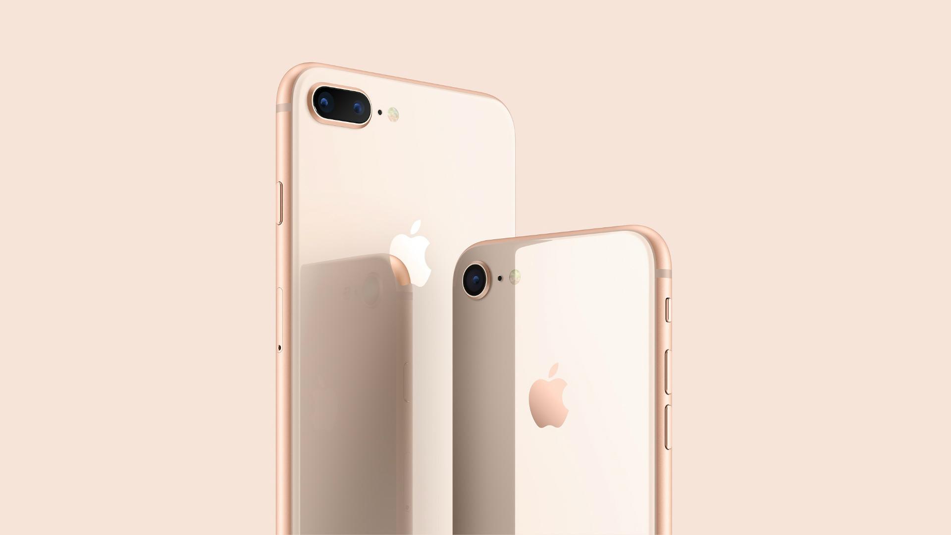 Apple iPhone 8 press render