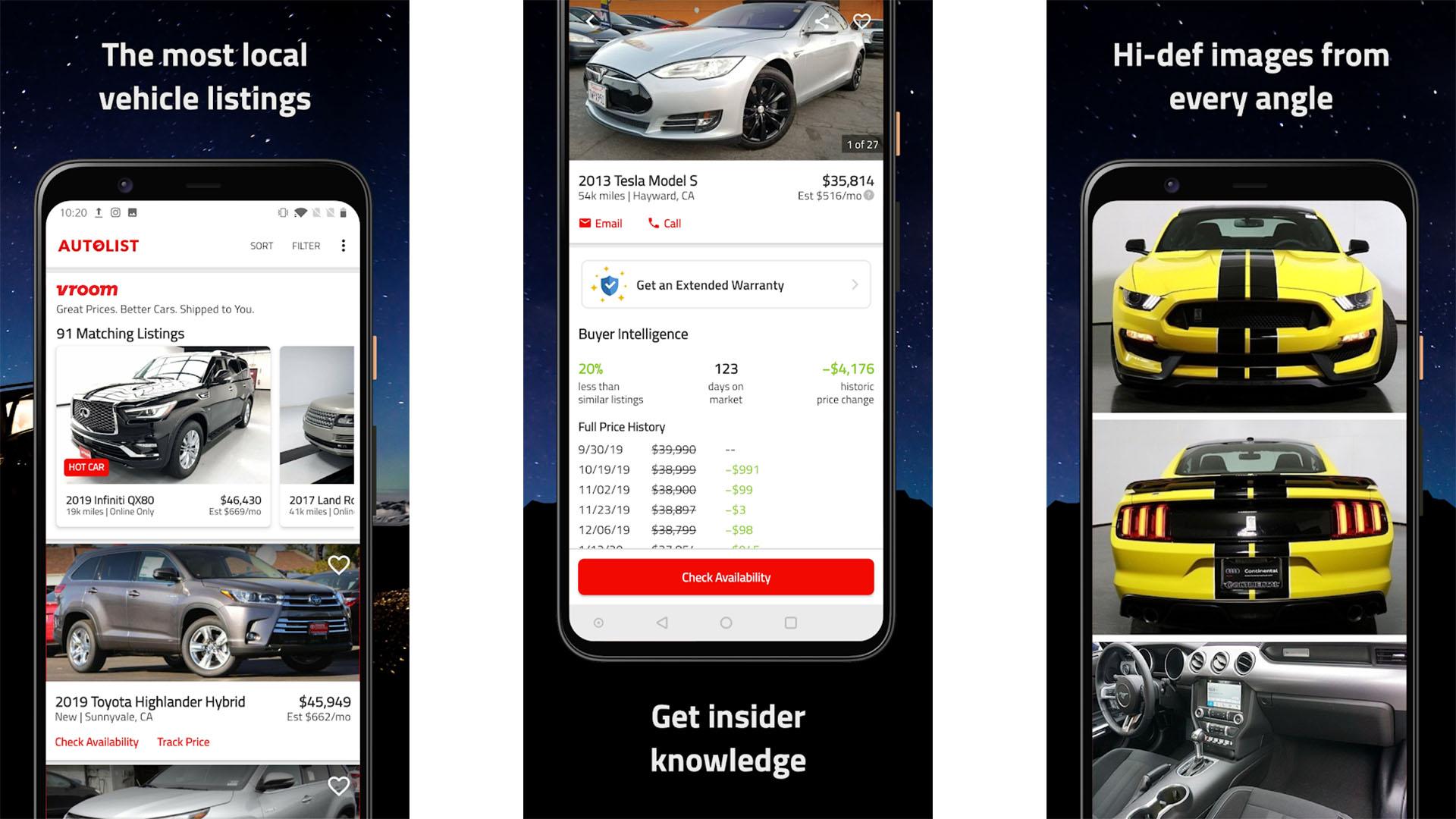 Autolist screenshot 2020