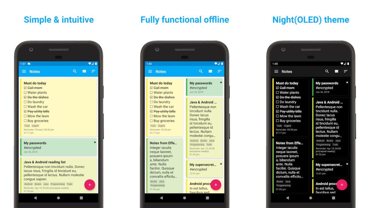 FairNote screenshot 2020