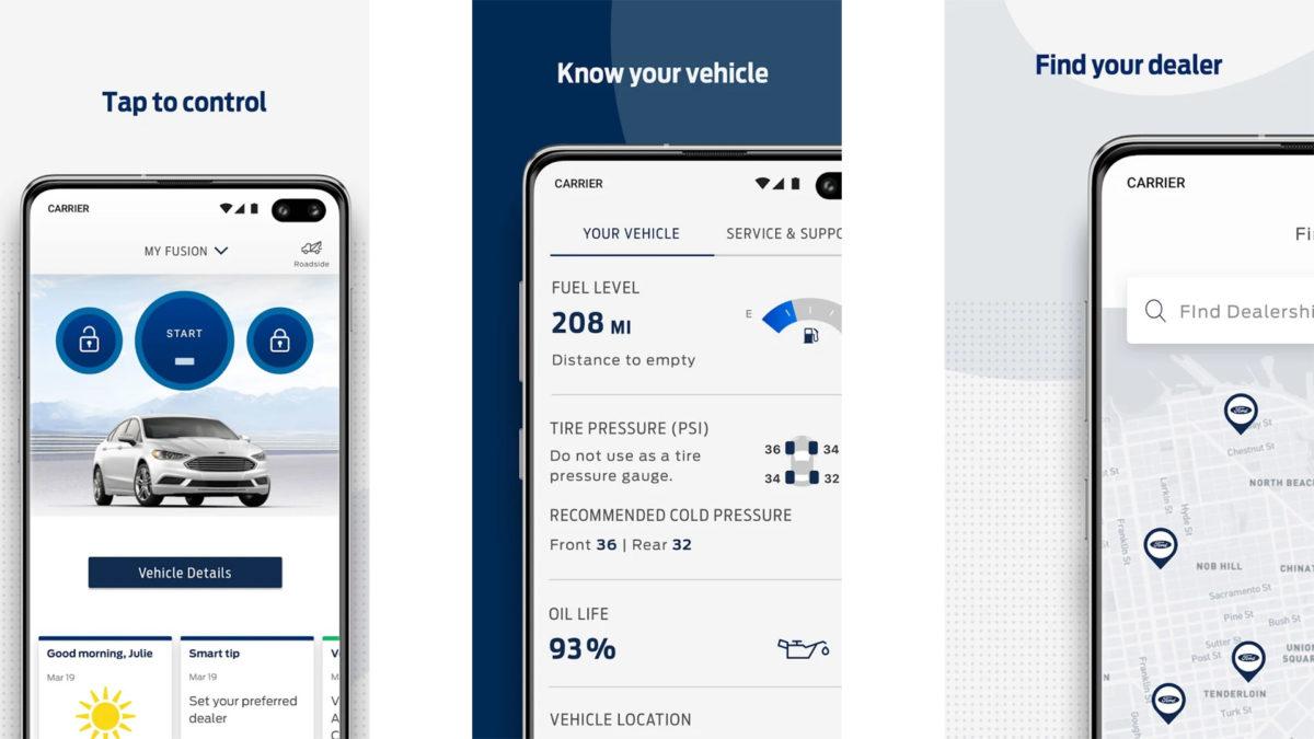 FordPass screenshot 2020