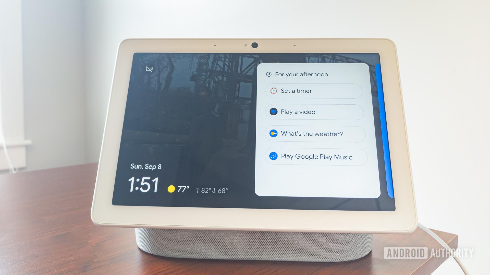 Google Home Hub Max review 6