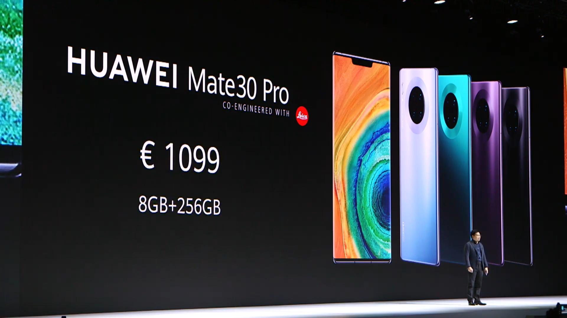 Huawei Mate 30 Pro Price
