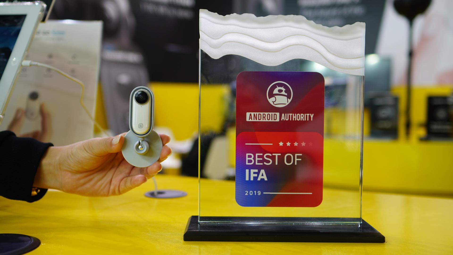 Insta360 Go camera Best of IFA Award winner