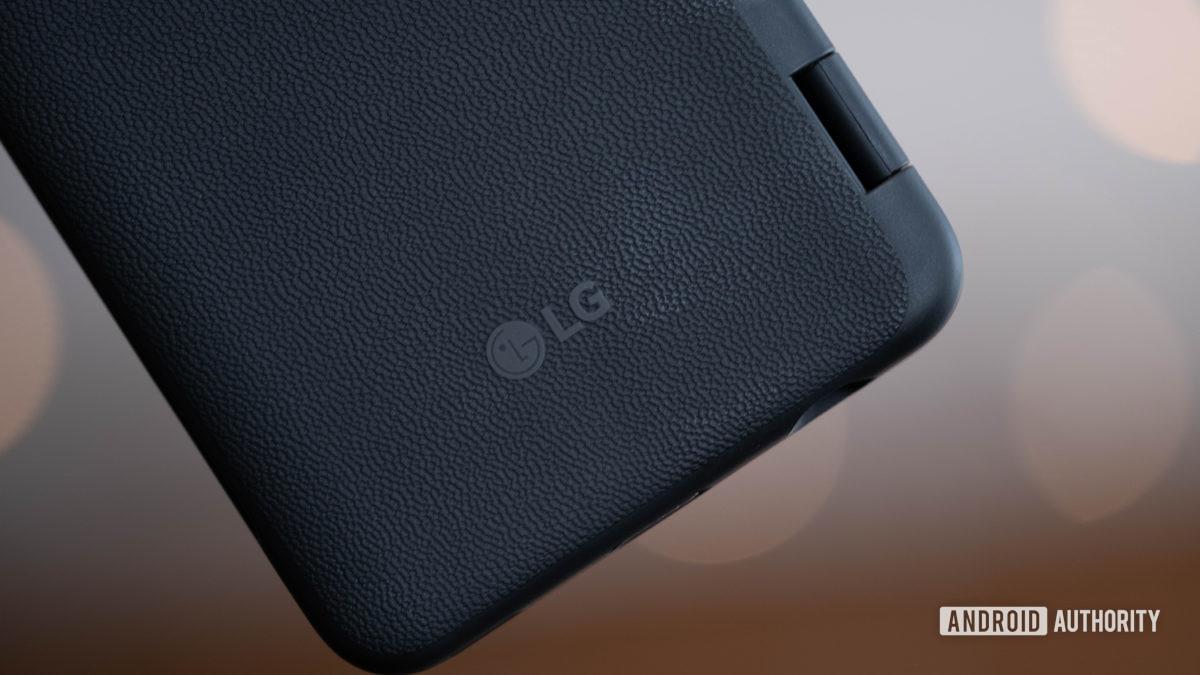 LG G8X ThinQ LG logo