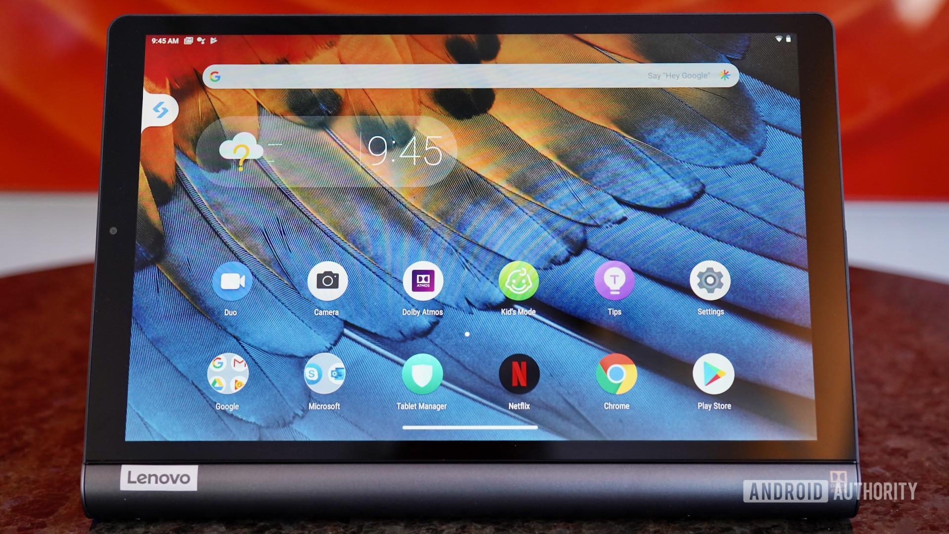Lenovo Yoga Smart Tab tablet mode