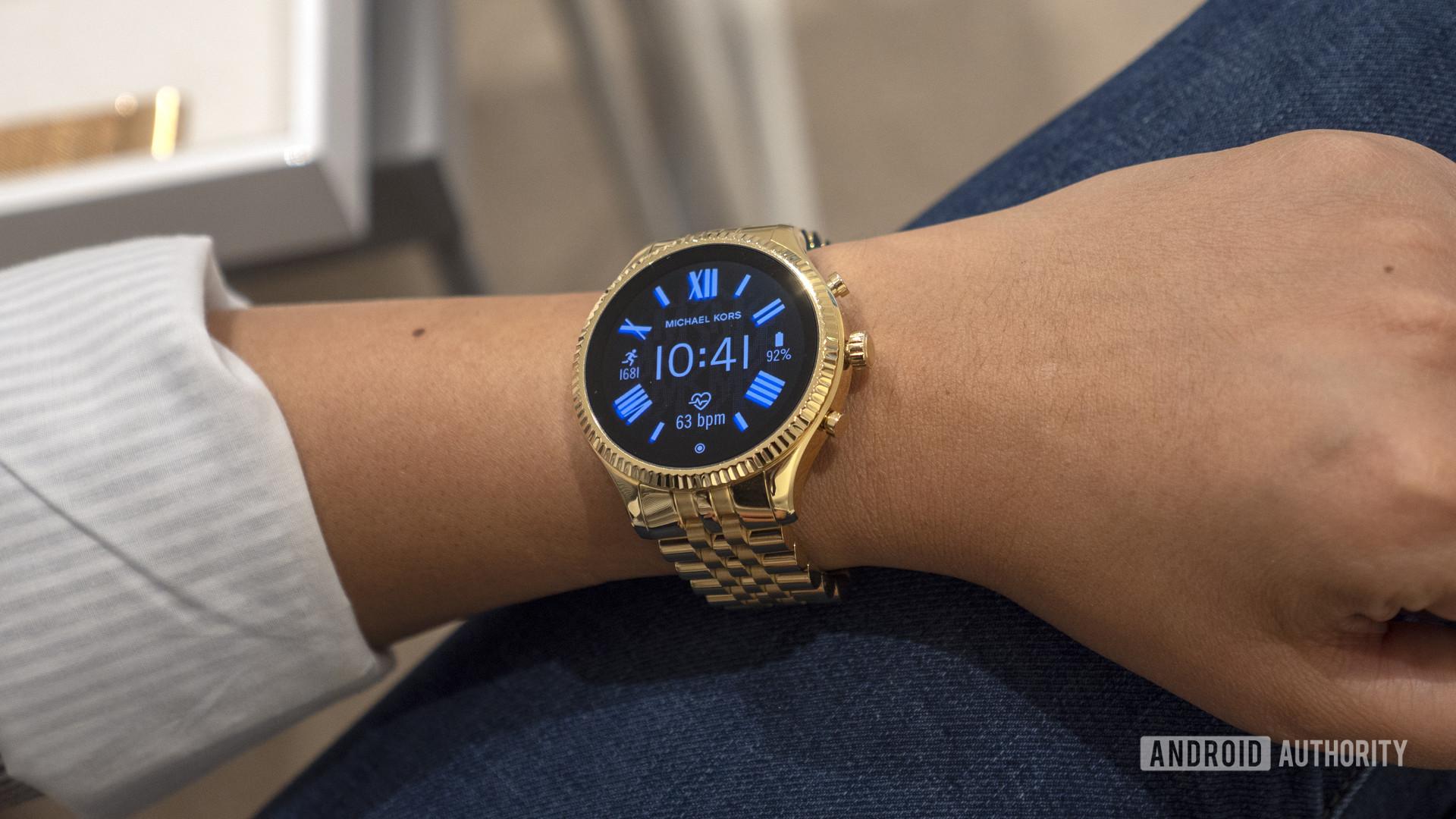 Michael Kors Lexington 2 Wear OS smartwatch 3