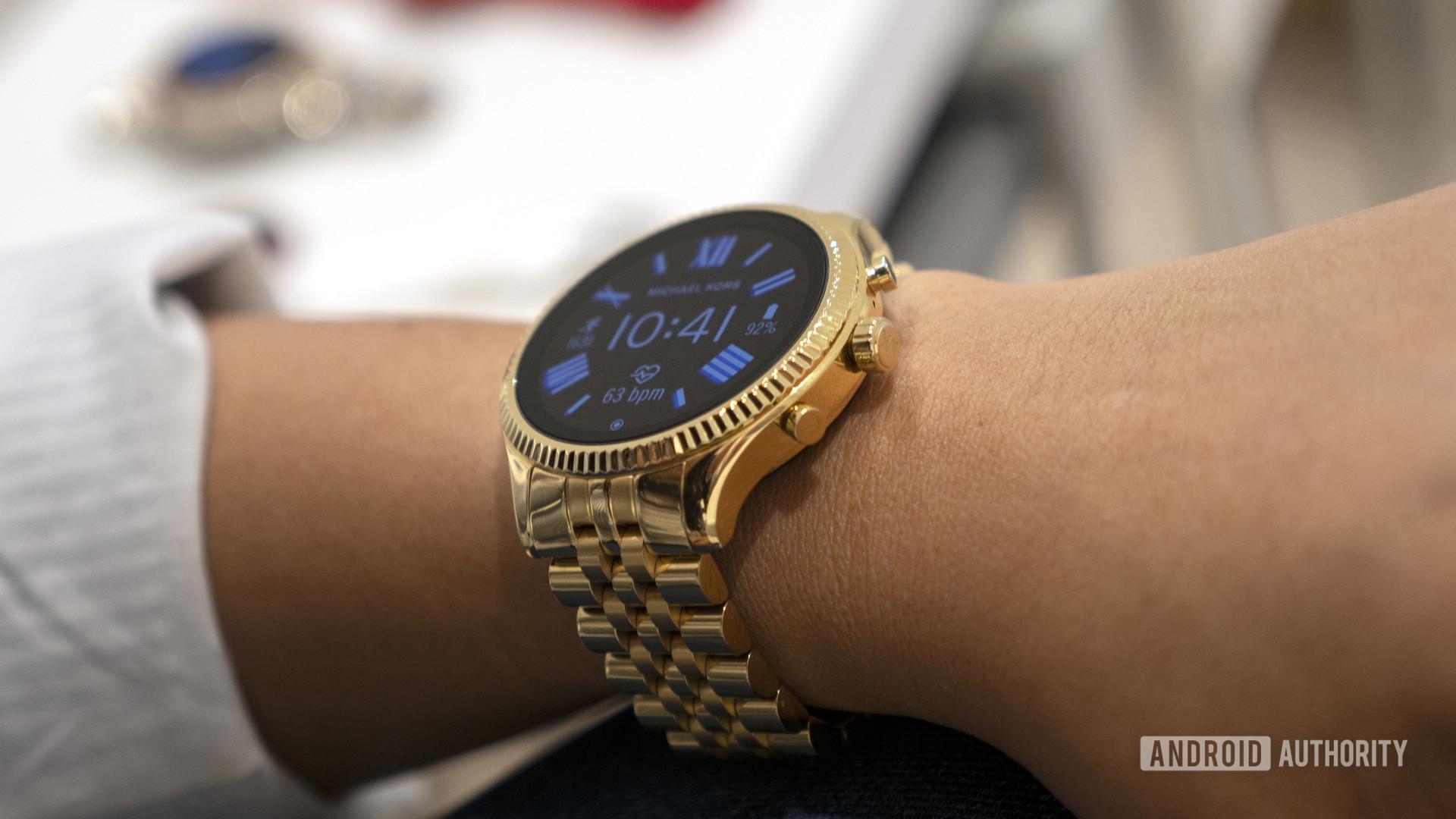Michael Kors Lexington 2 Wear OS smartwatch 4