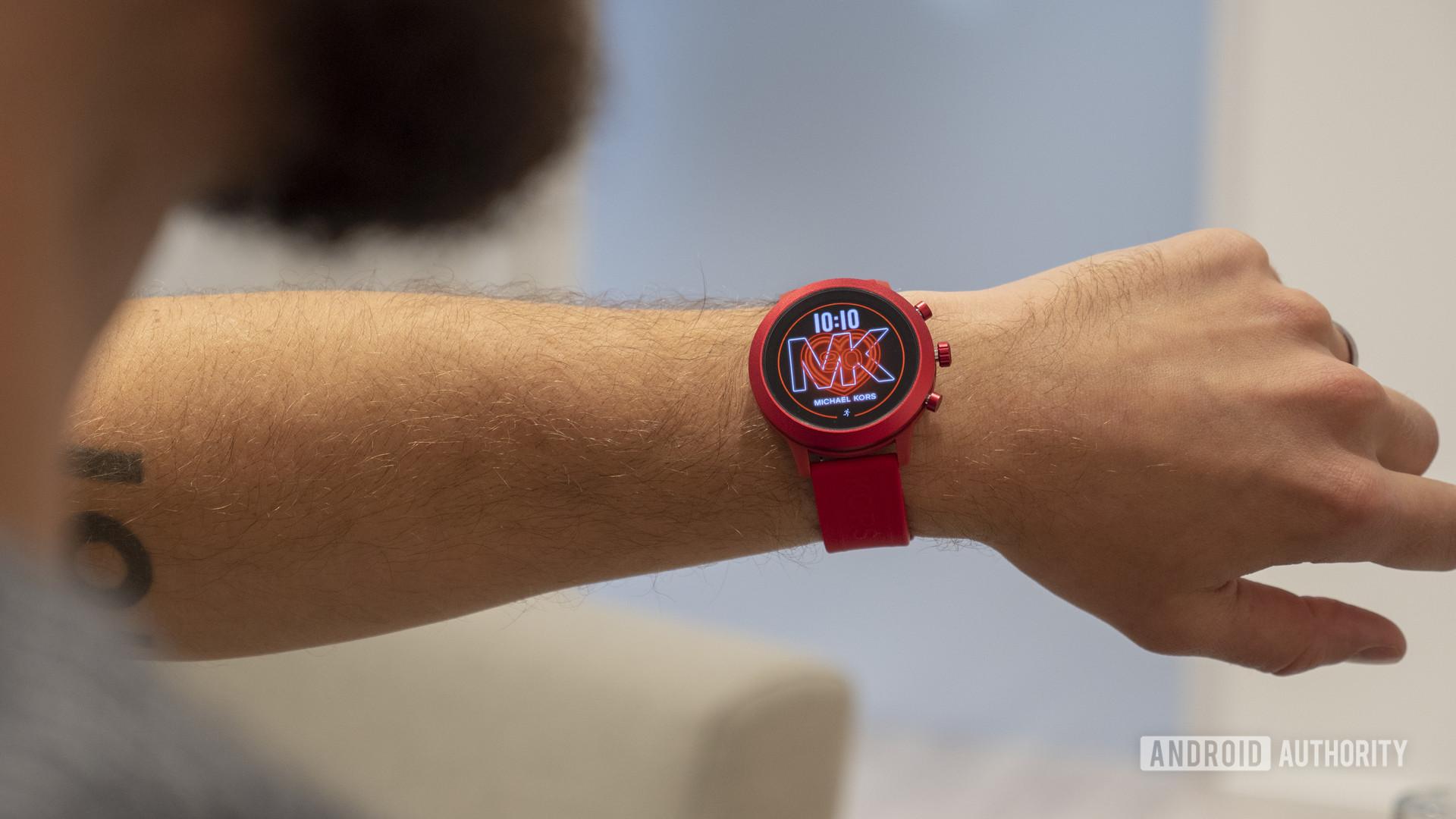 Michael Kors MKGO Wear OS smartwatch 7