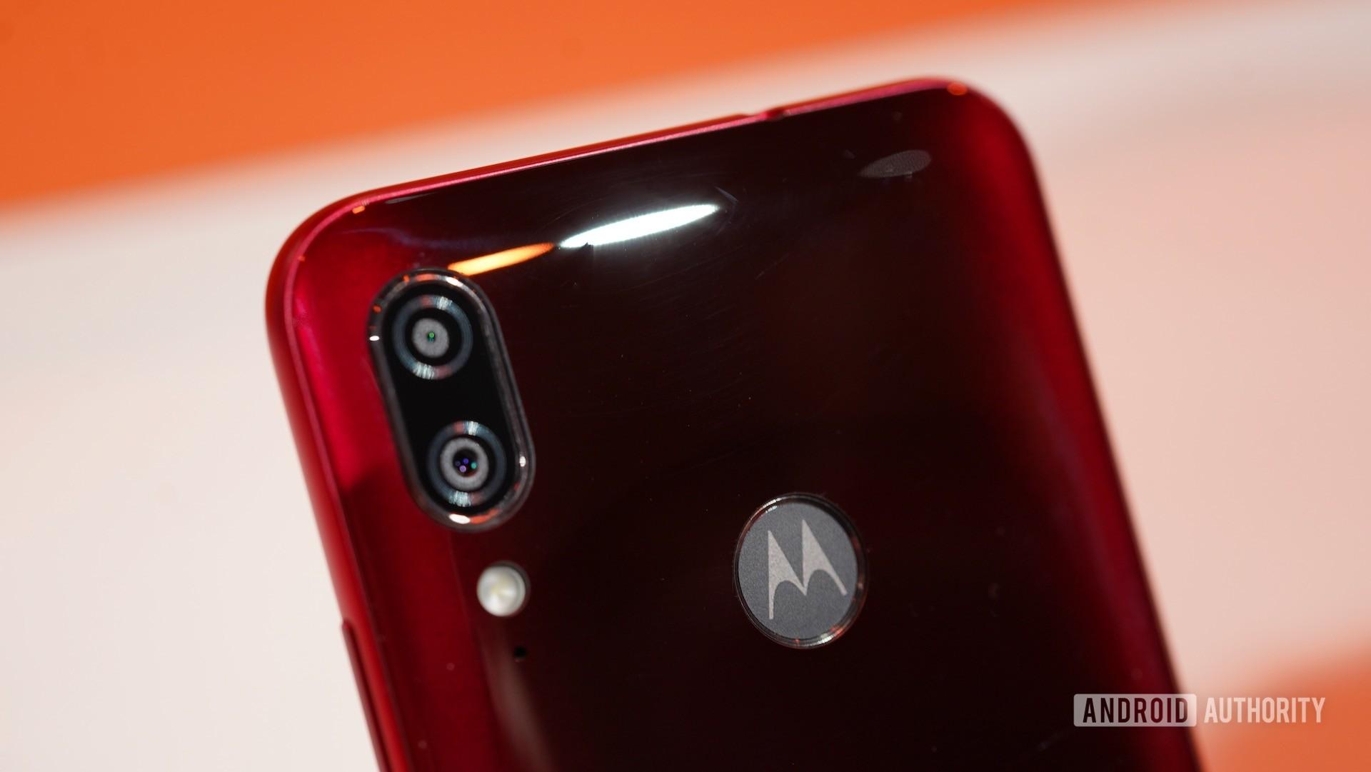 Motorola Moto E6 Plus camera closeup