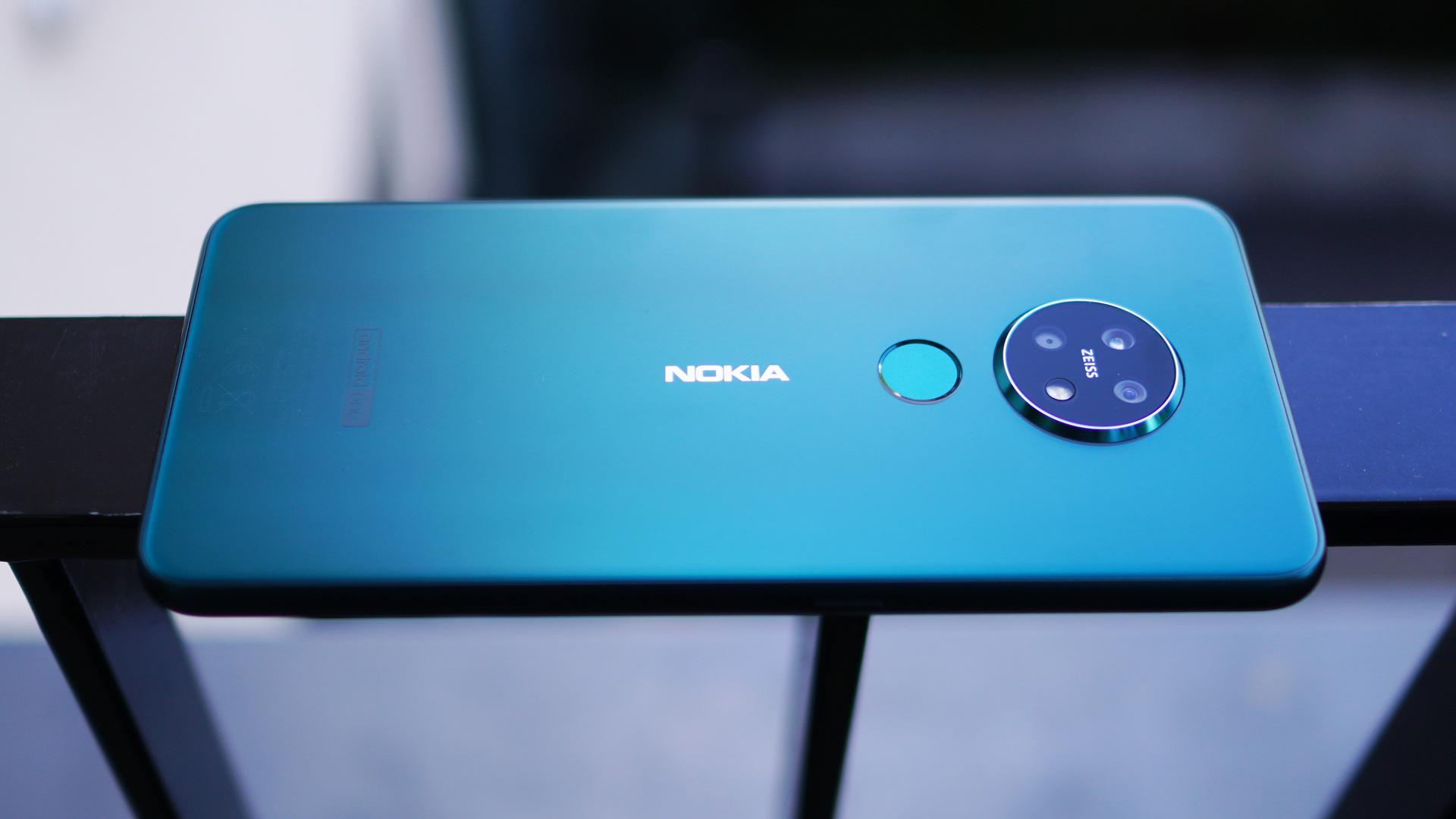 Nokia 7.2 back panel landscape