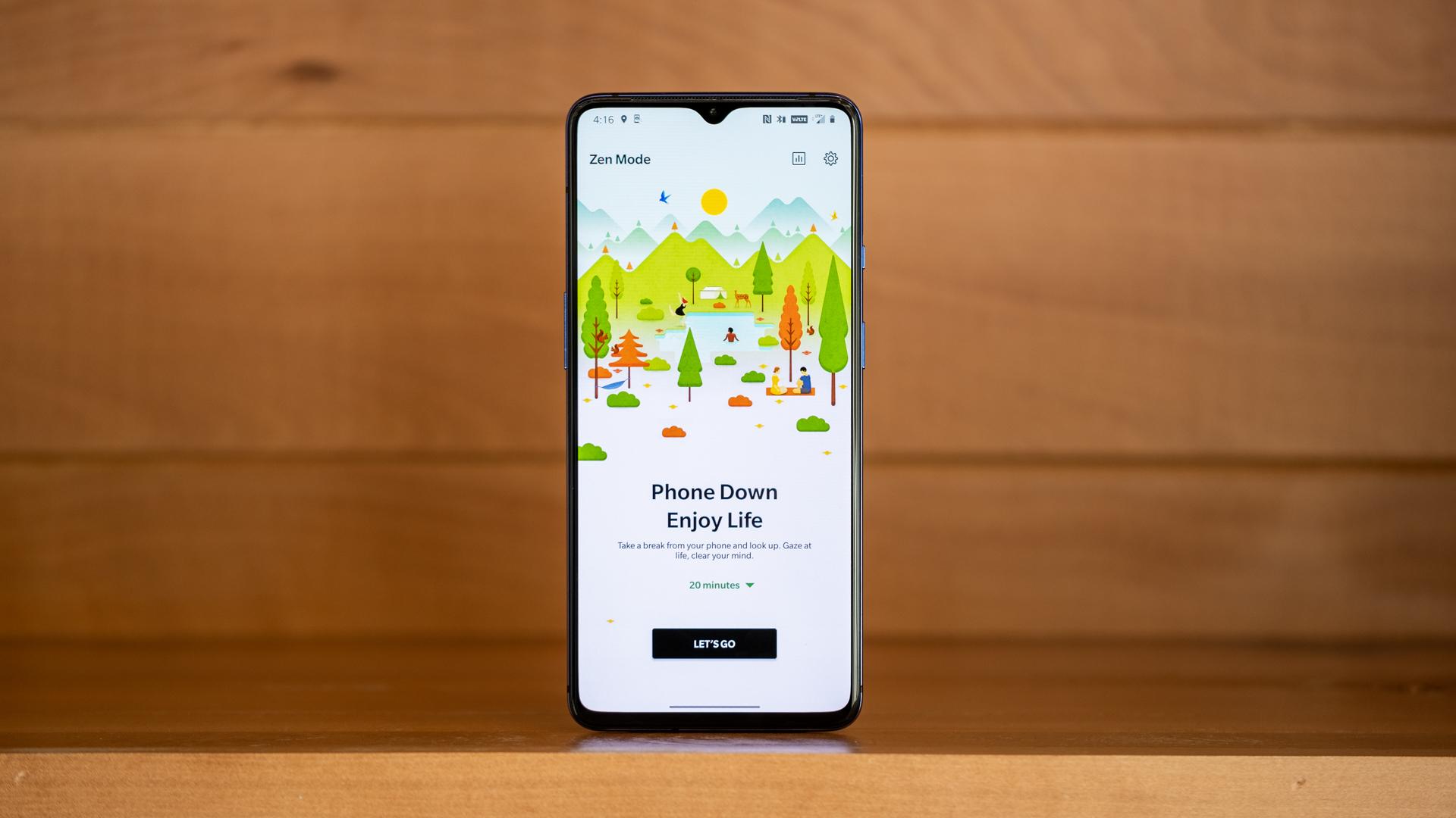 OnePlus 7T Zen Mode