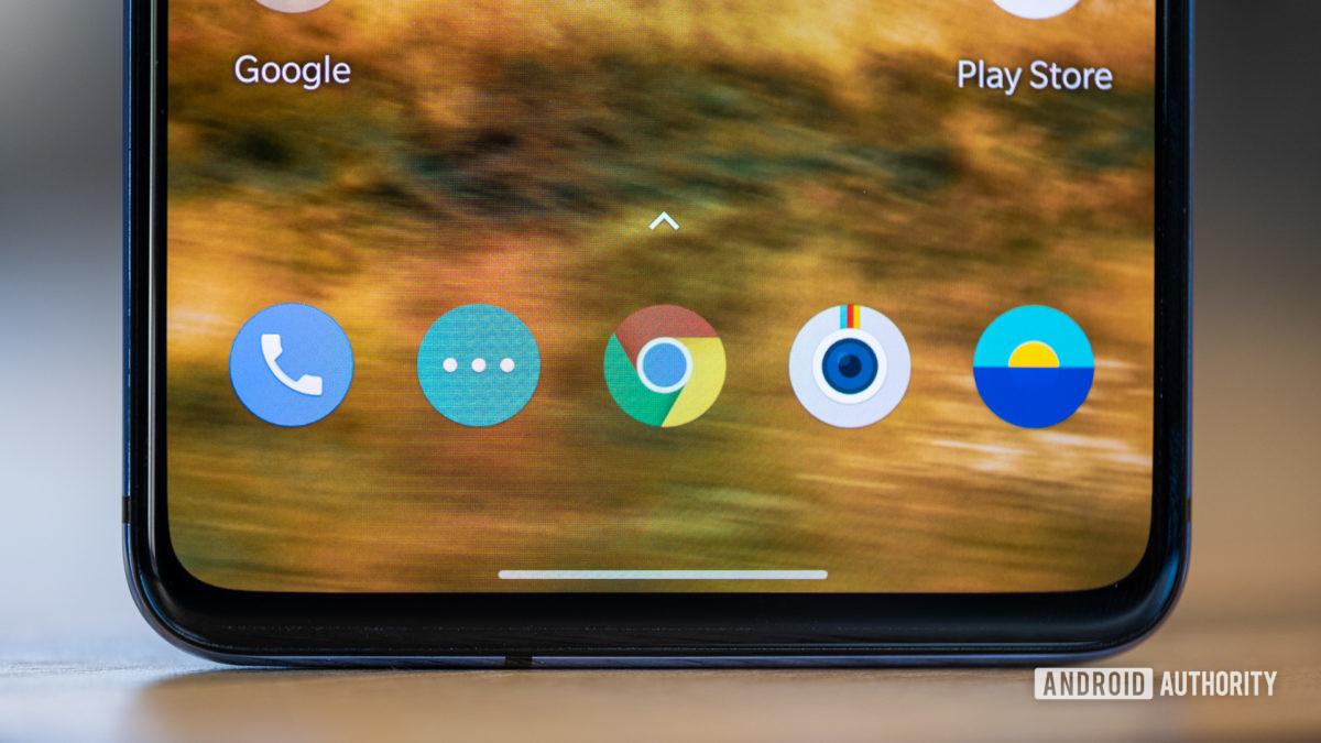 OnePlus 7T multitasking macro