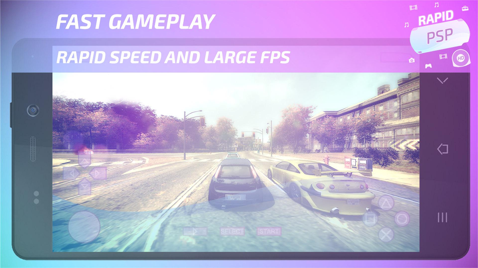 Rapid PSP Emulator screenshot