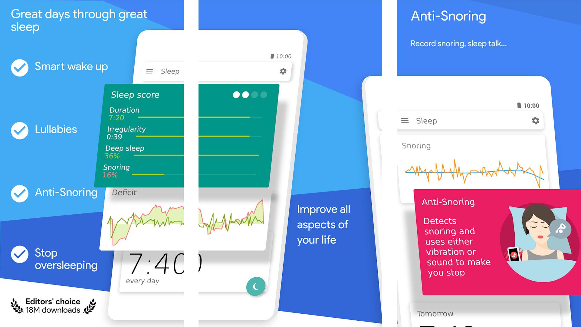 Sleep as Android screenshot 2020
