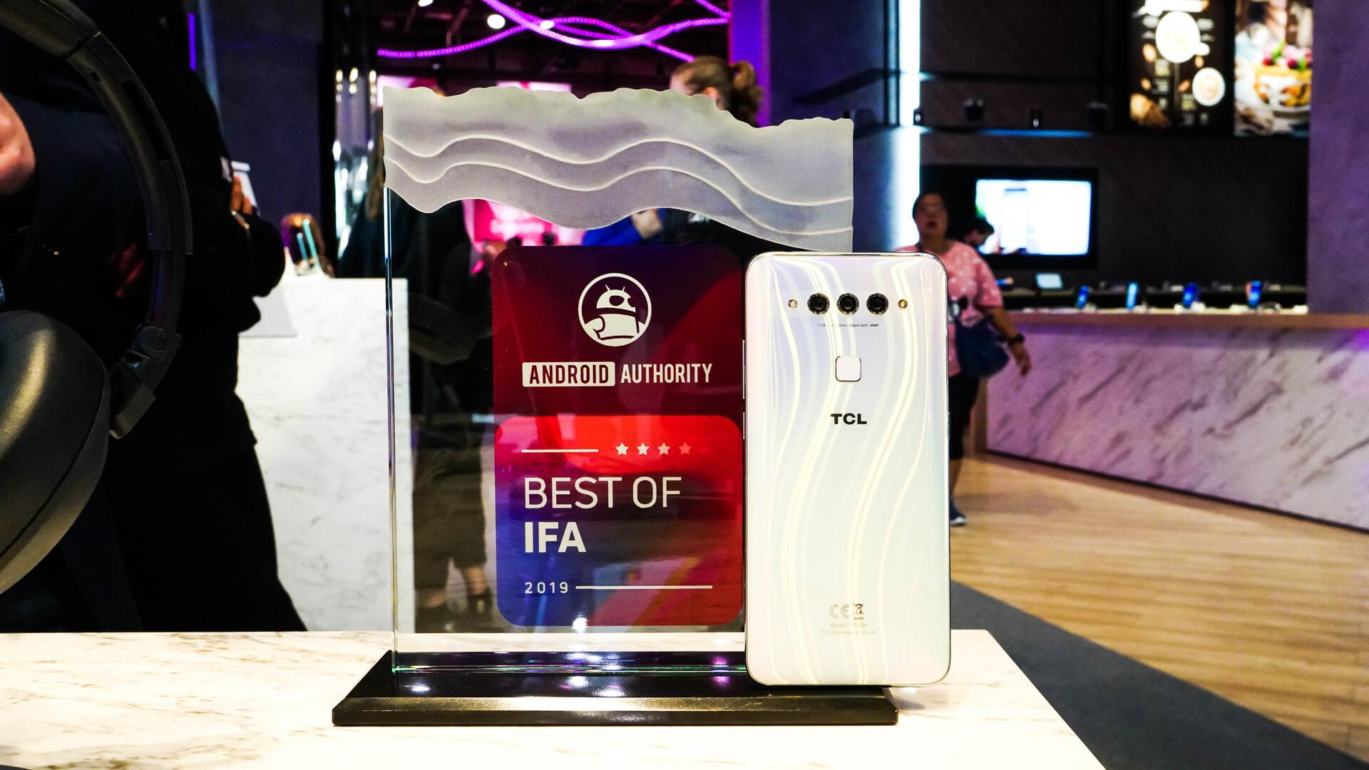 TCL Plex Android Authority IFA Award 3