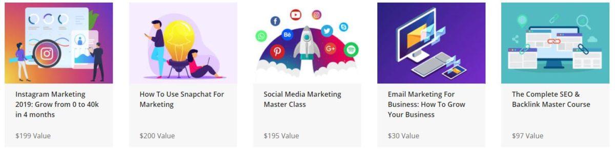 The Complete SEO and Digital Mega Marketing Bundle Courses