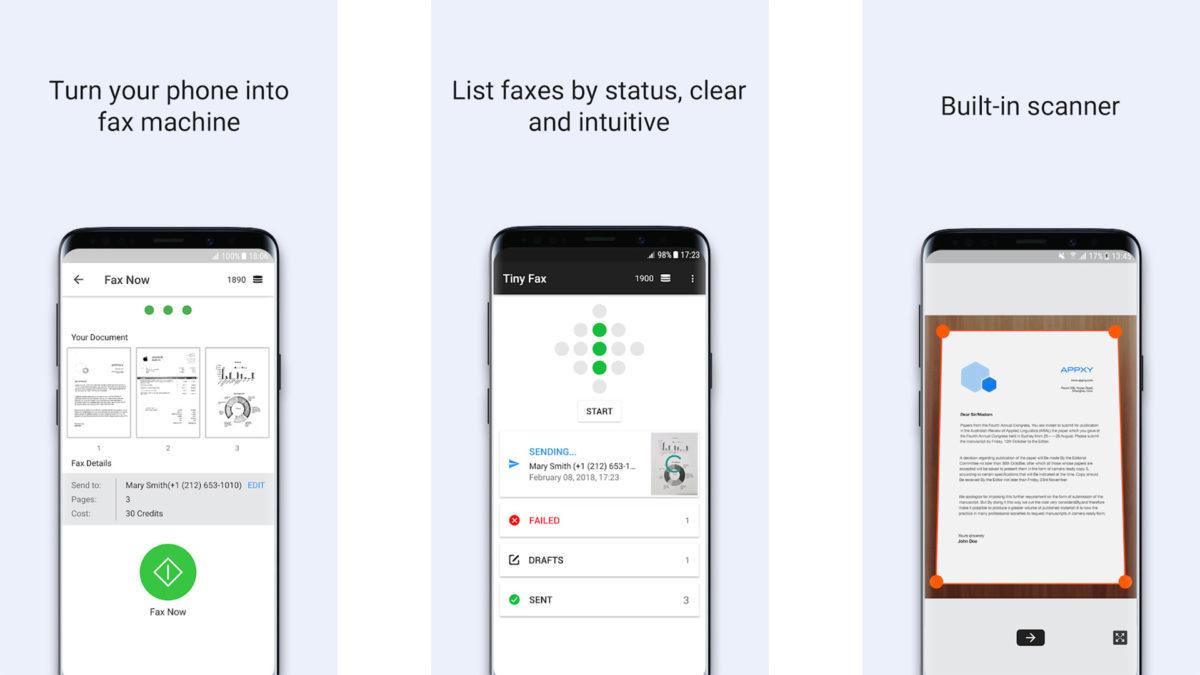 Tiny Fax screenshot 2020
