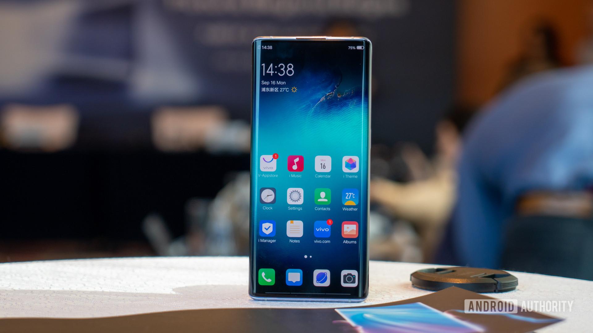 Vivo NEX 3 5G screen 2