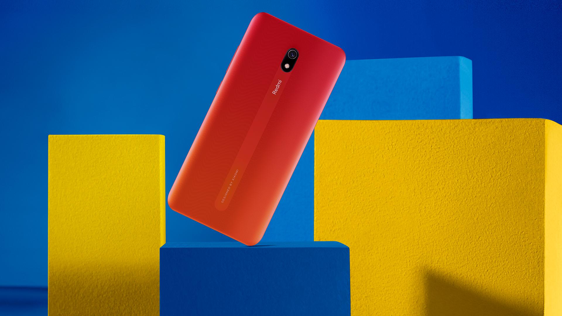 Xiaomi Redmi 8A back view