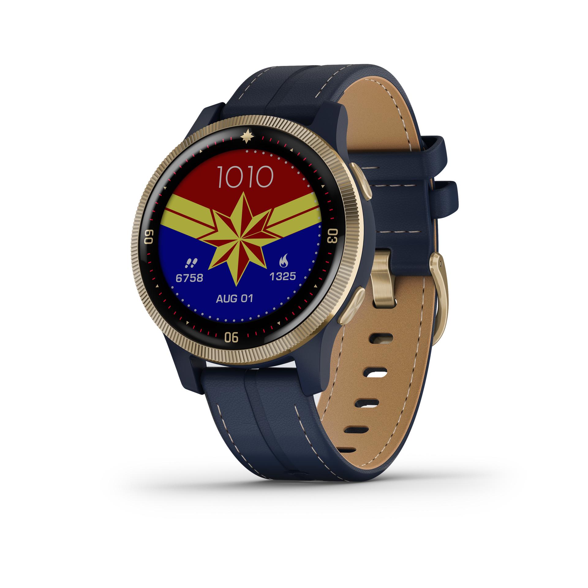 garmin legacy hero smartwatch captain marvel