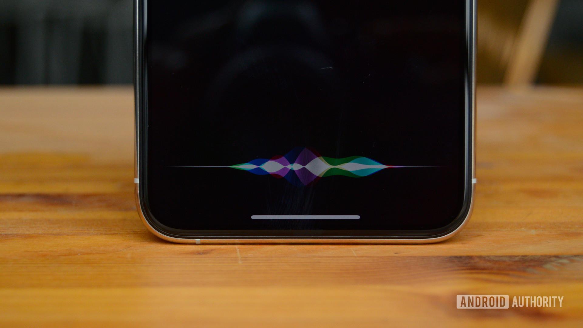 iPhone 11 Pro Max Siri