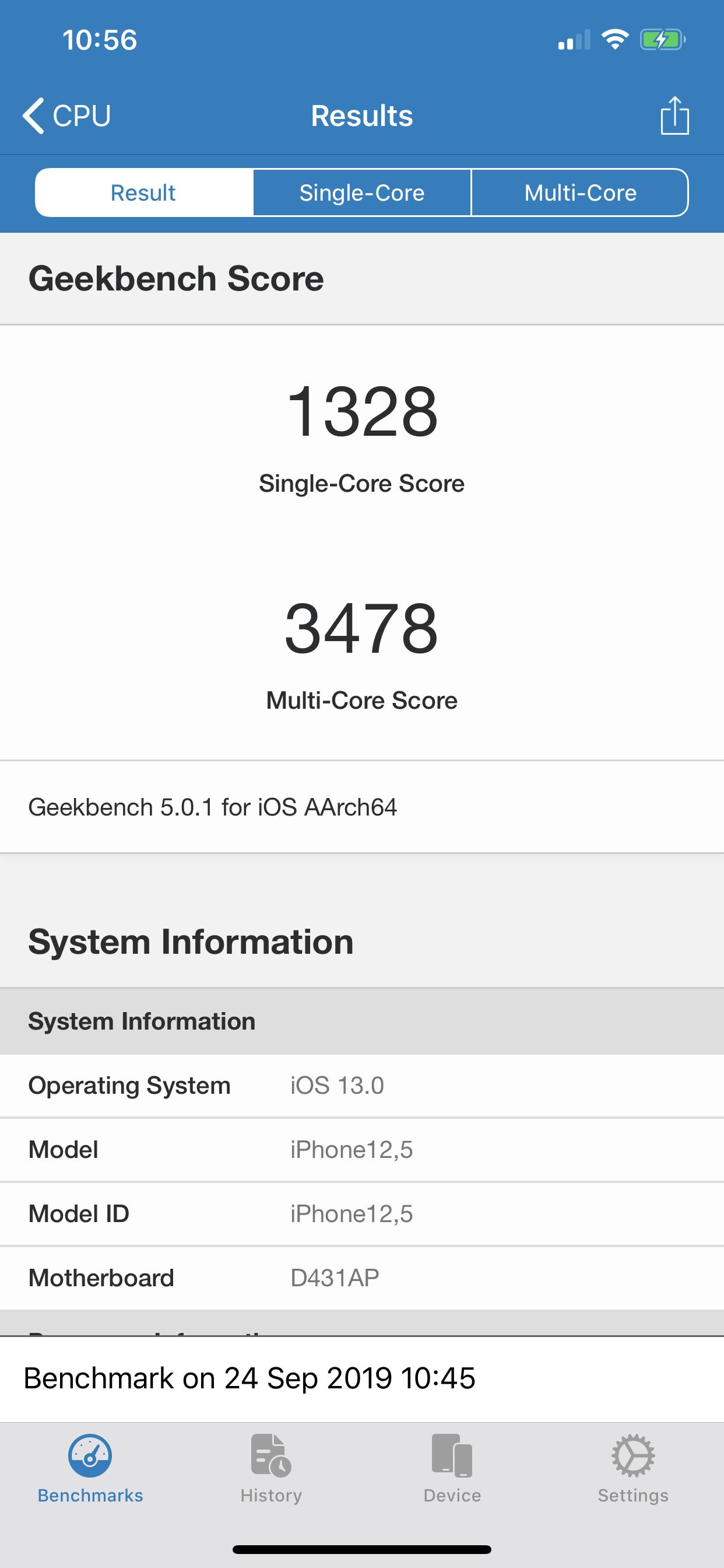 Pixel 4 XL vs iPhone 11 Pro Max - iphone 11 pro max geekbench 5