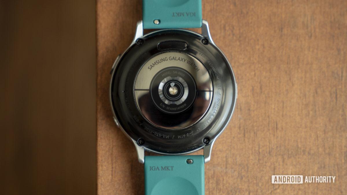 samsung galaxy watch active 2 review heart rate sensor