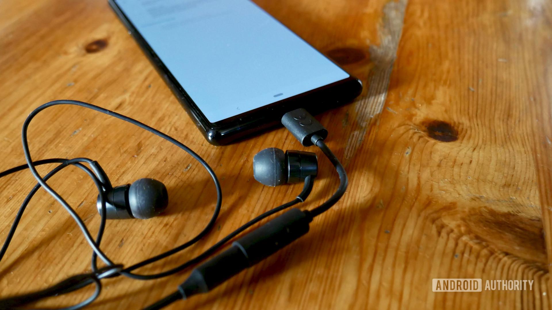 sony xperia 5 audio