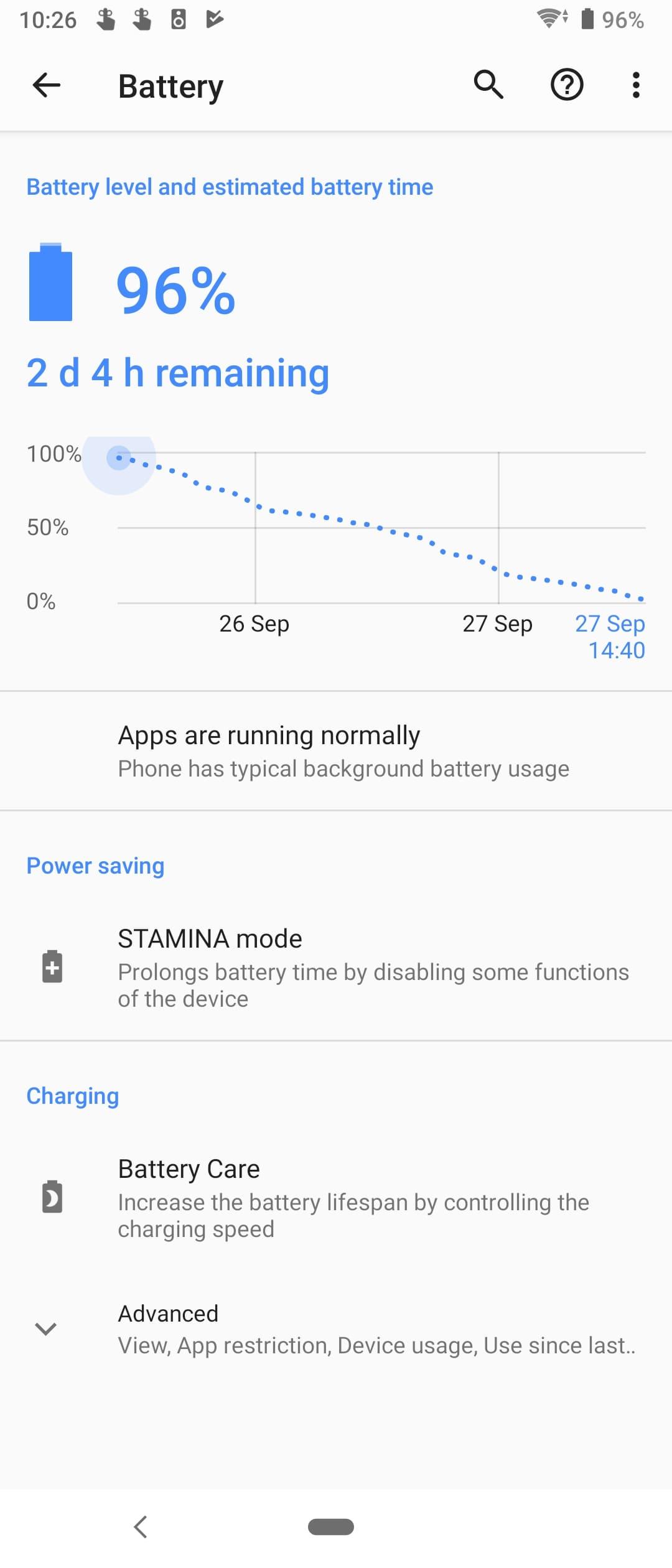 sony xperia 5 battery 1