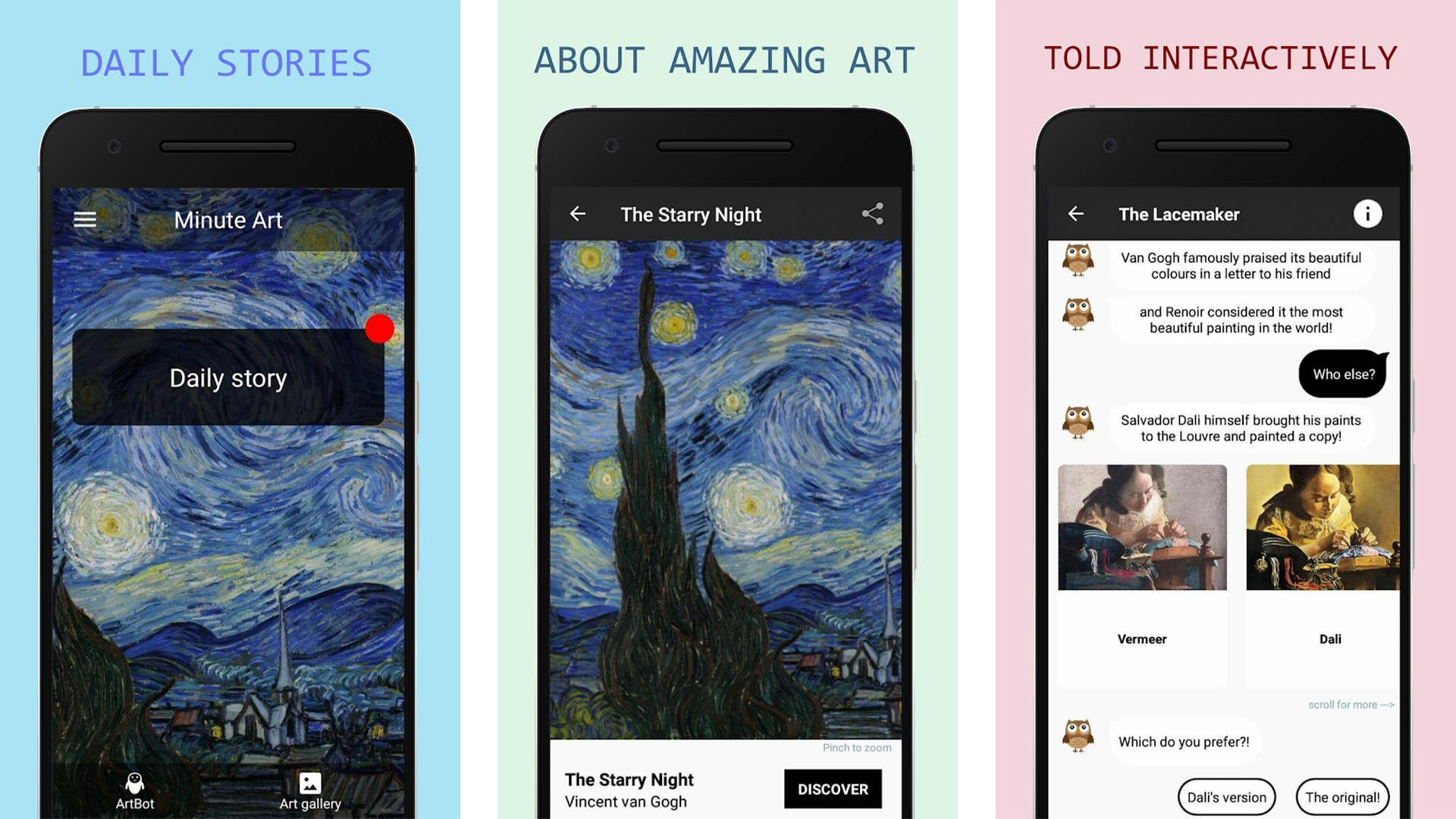 Art Saga screenshot for the best art apps list