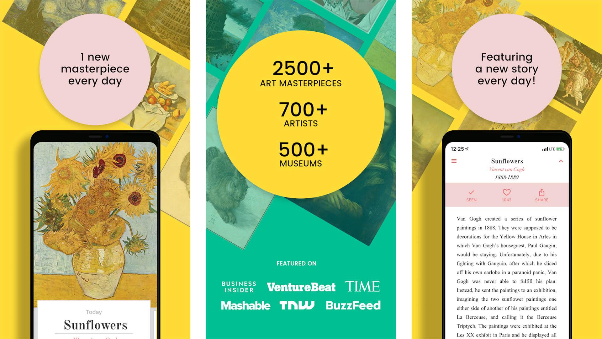 DailyArt screenshot 2020