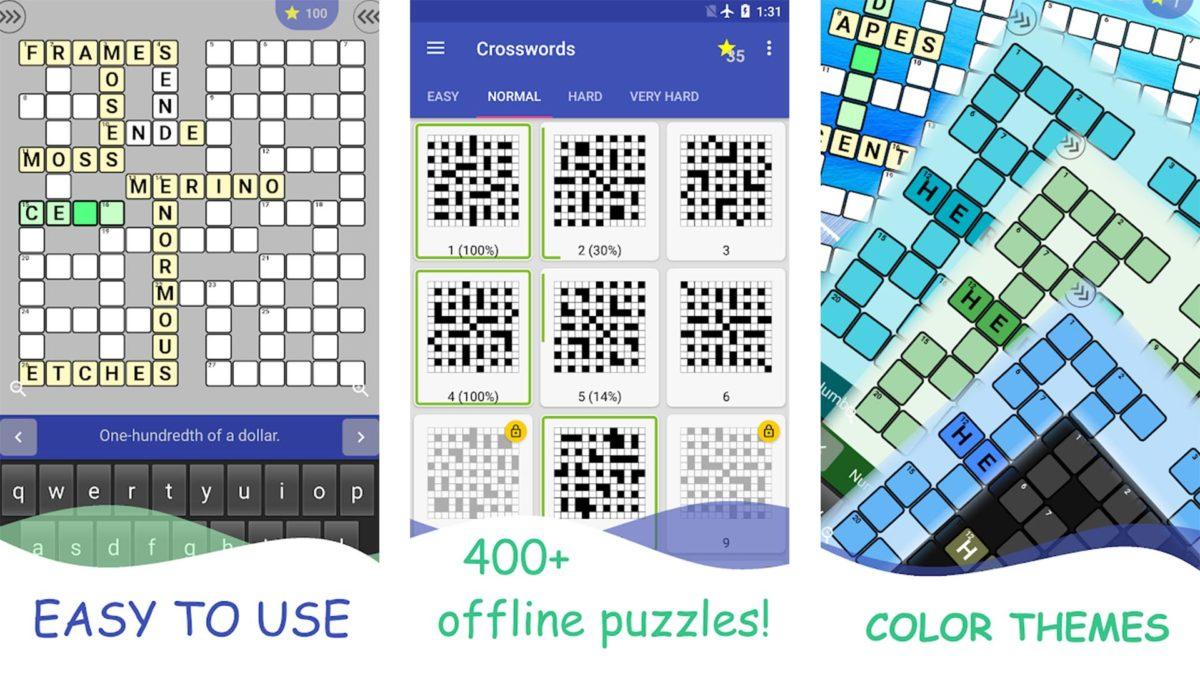 English Crossword screenshot