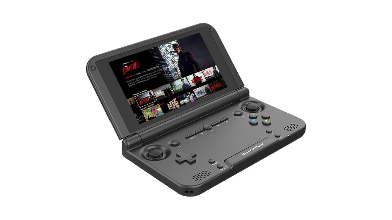 GPD XD Plus render - one of the best handheld consoles