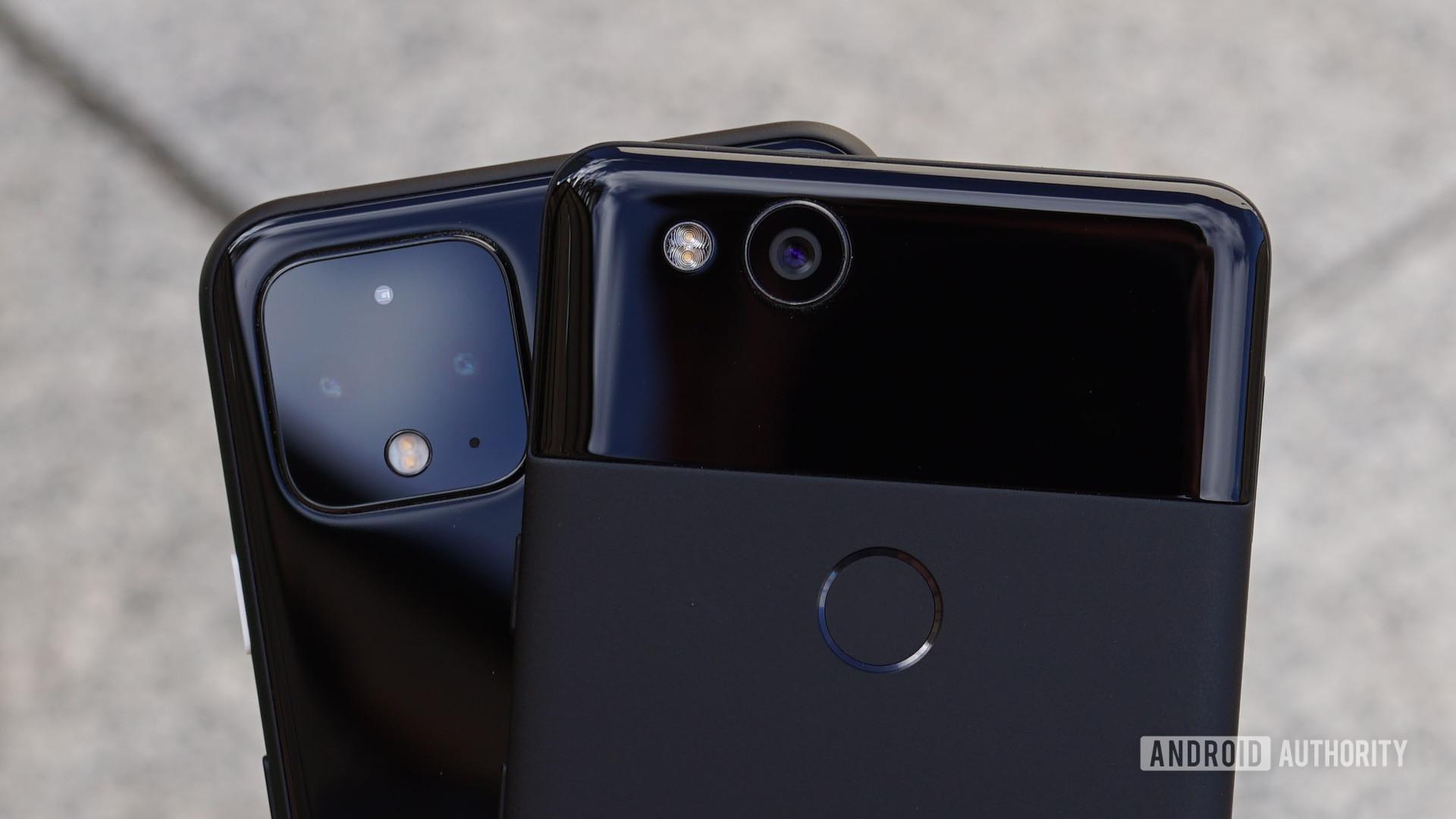 Google Pixel 2 vs Pixel 4 camera
