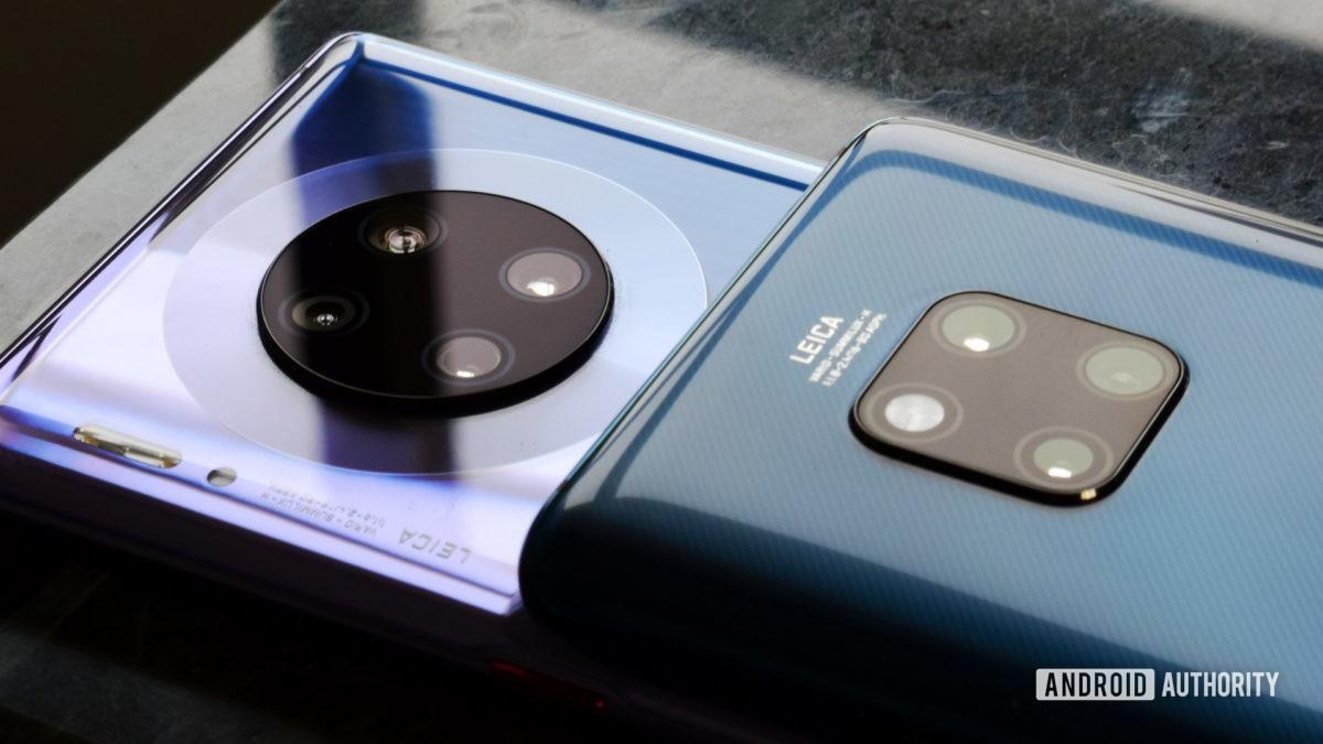 Huawei Mate 30 Pro vs Mate 20 Pro cameras