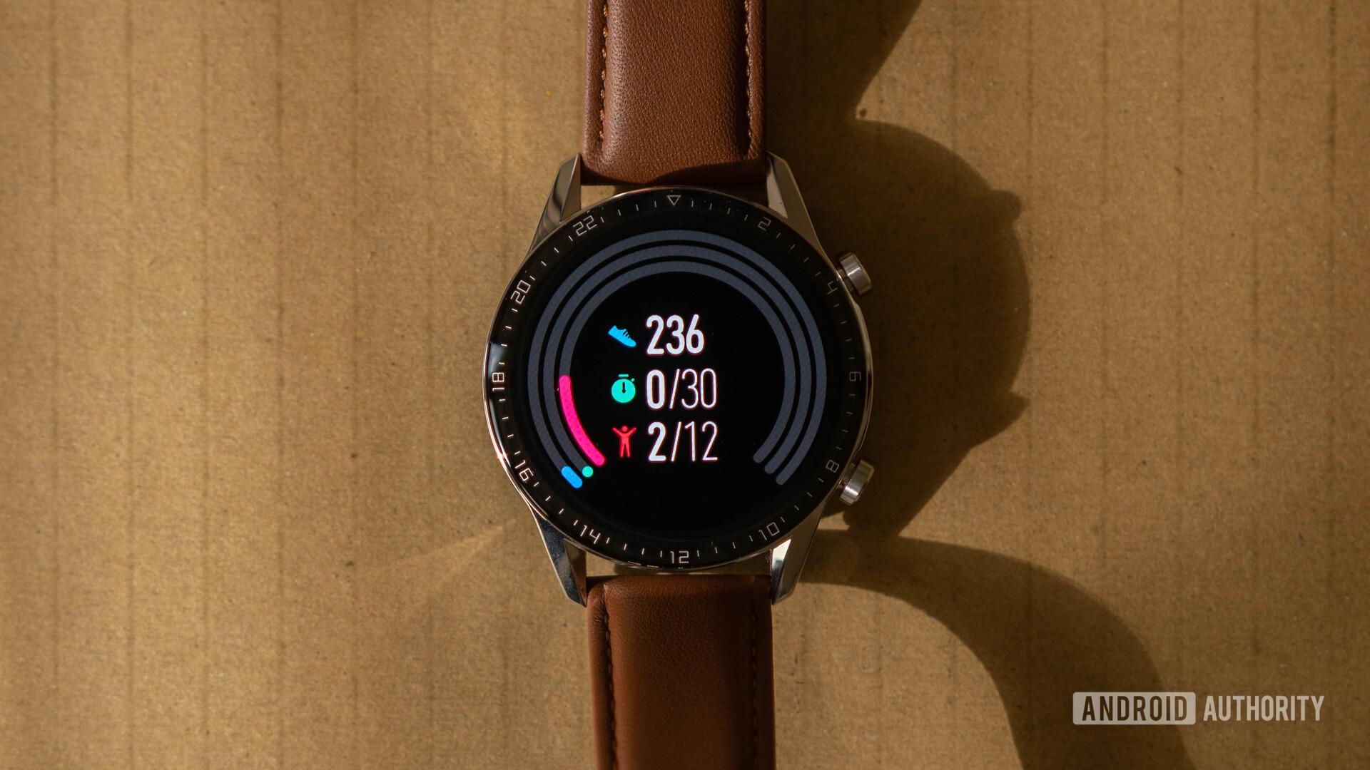Huawei Watch GT 2 Fitness rings