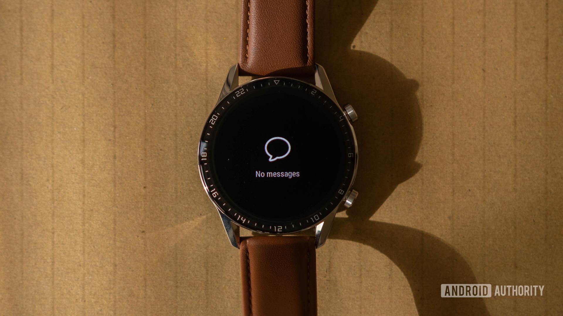 Huawei Watch GT 2 Notifications page