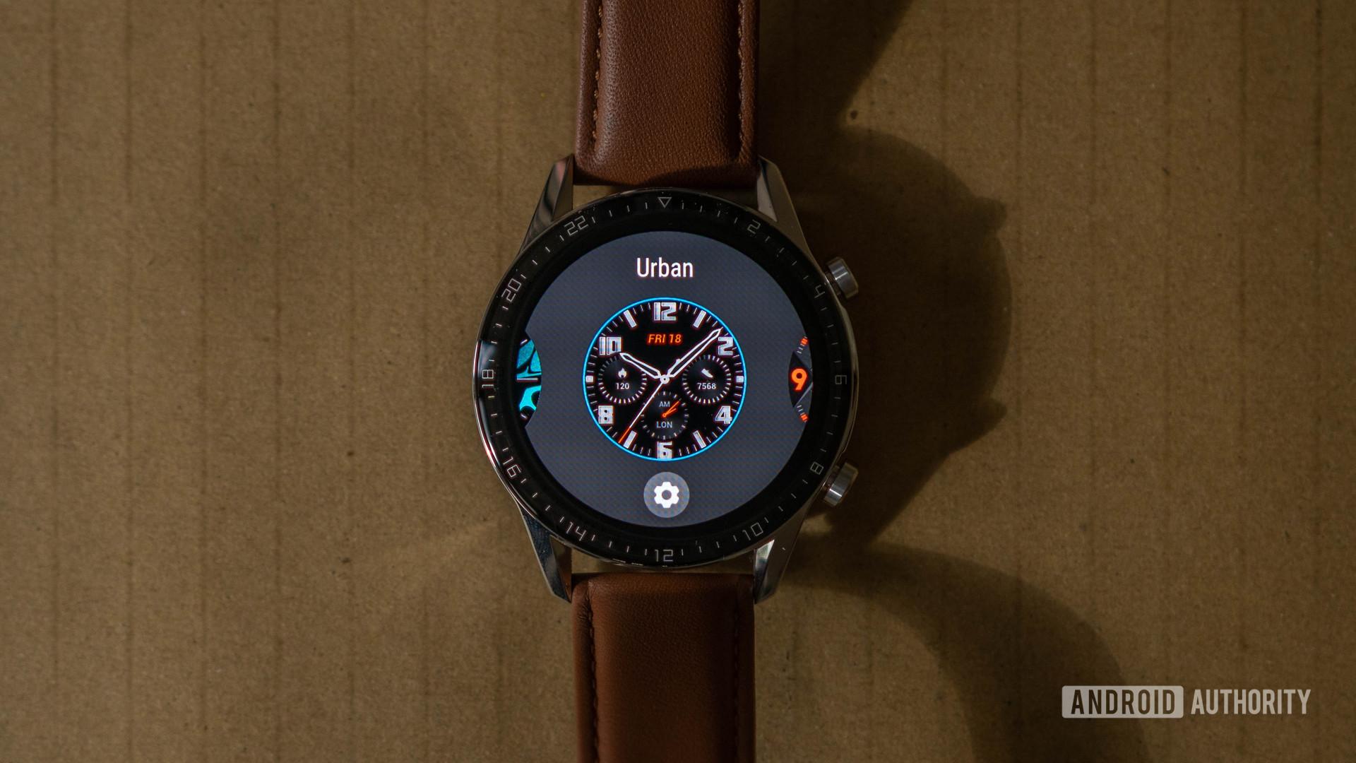 Huawei Watch GT 2 Watch face selector