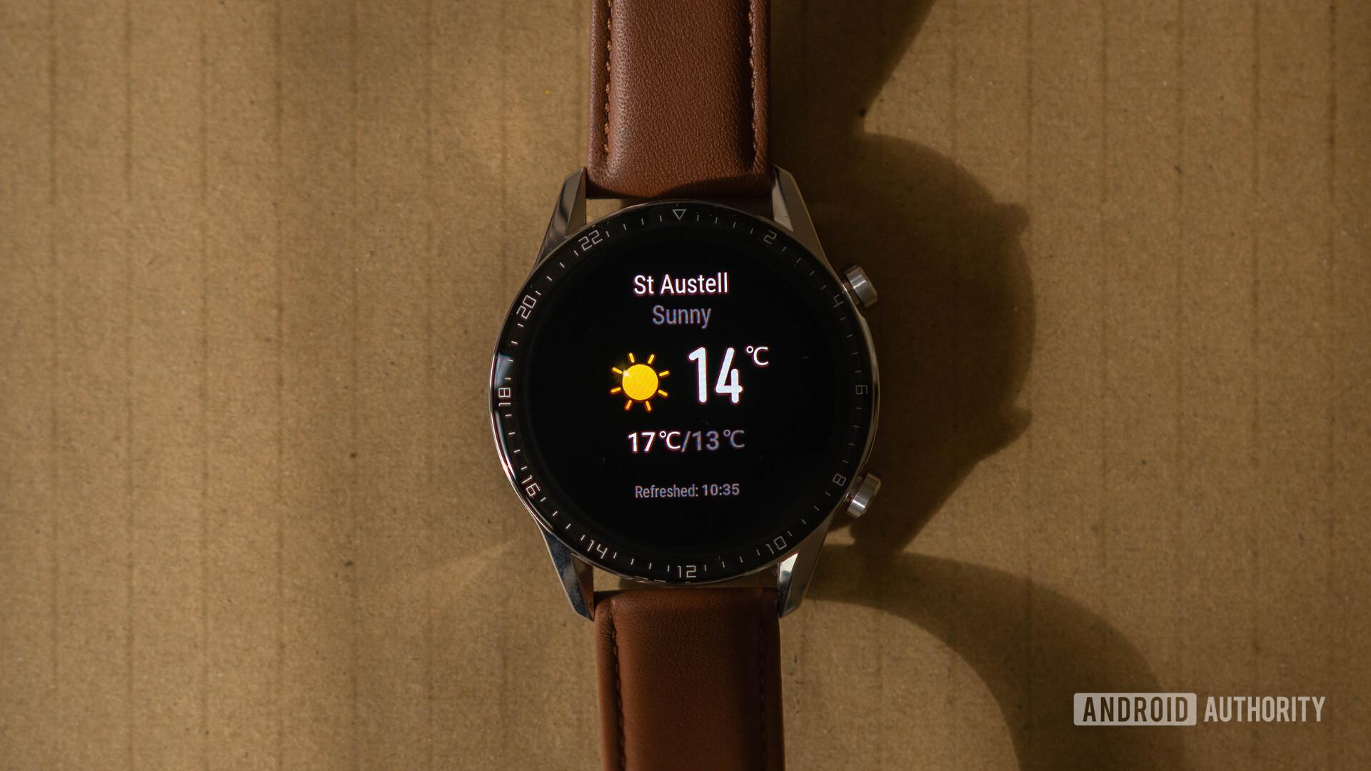 Huawei Watch GT 2 Weather