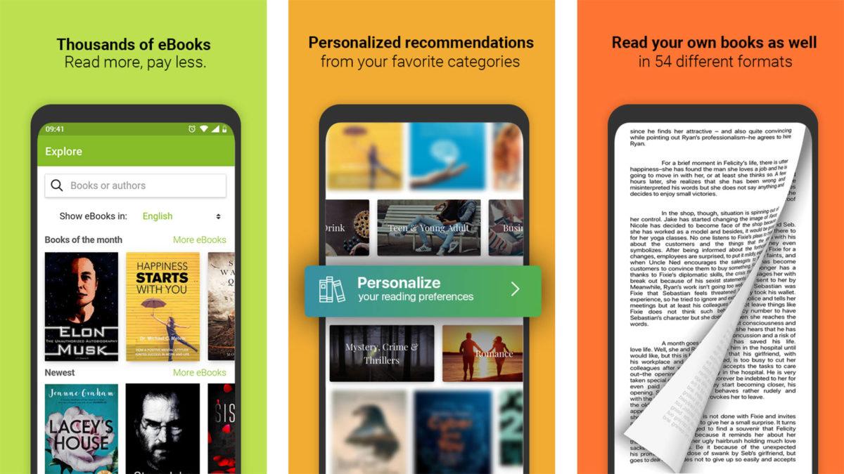 Media365 Book Reader screenshot 2020