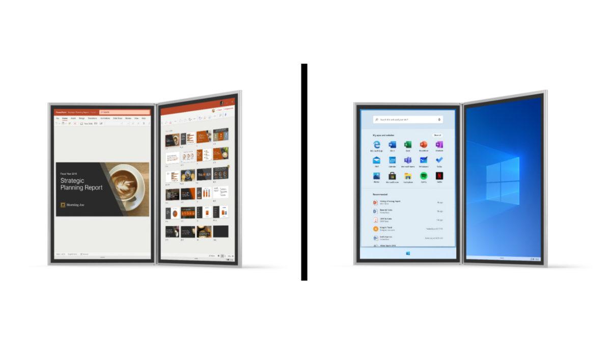 Microsoft Surface Neo Windows 10X UI