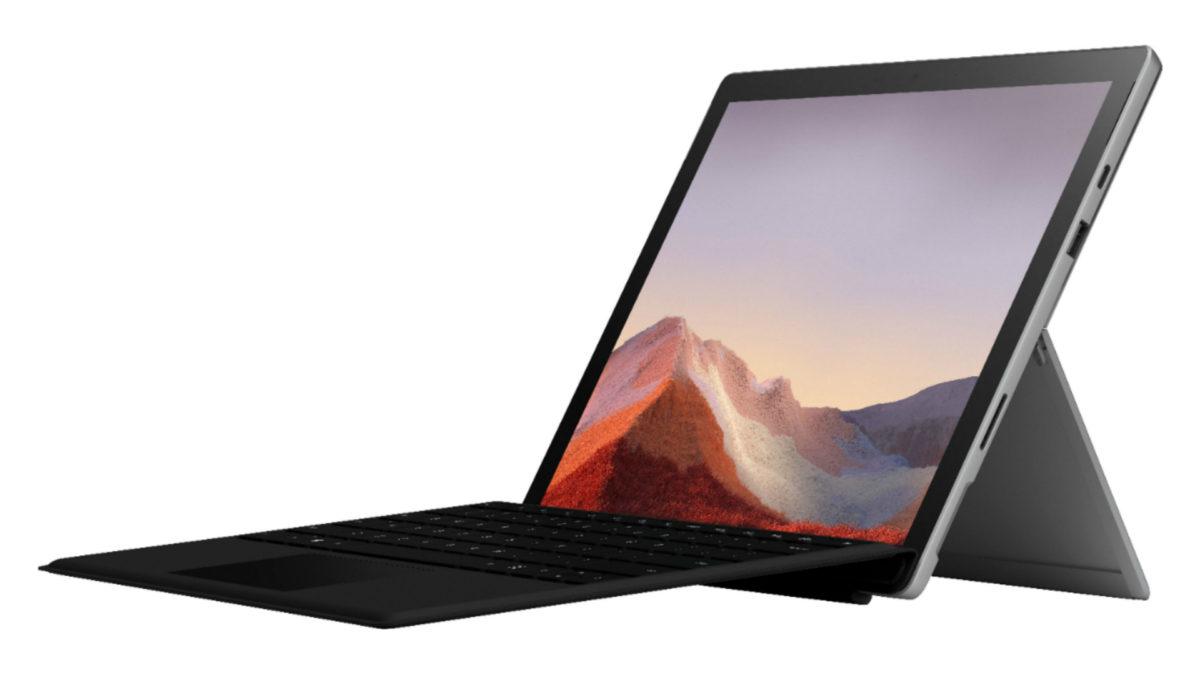 Microsoft Surface Pro 7 fuga