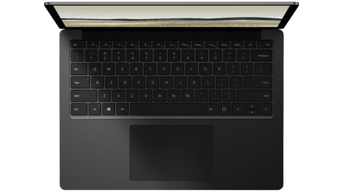 Microsoft Surface laptop 3 leak